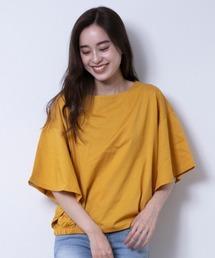 tシャツ Tシャツ 前後2way袖フレアカットソー|ZOZOTOWN PayPayモール店
