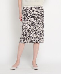 スカート 【洗える】キーラプリントタイトスカート|ZOZOTOWN PayPayモール店