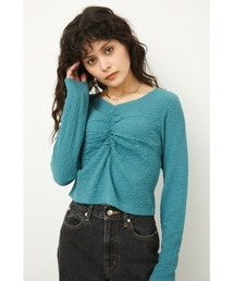 tシャツ Tシャツ FINE SHIRRING TOPS|ZOZOTOWN PayPayモール店