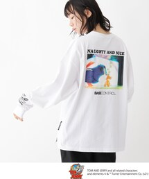 tシャツ Tシャツ TOM and JERRY/トムとジェリー クルーネックアニメーションアートロンT|ZOZOTOWN PayPayモール店