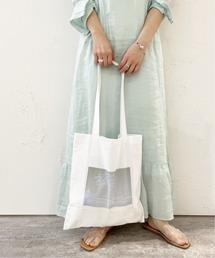 トートバッグ バッグ look photo white flower tote bag ZOZOTOWN PayPayモール店