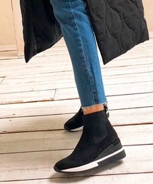 ブーツ 【REZOY】スニーカーソールショートブーツ|ZOZOTOWN PayPayモール店