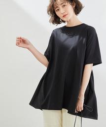 tシャツ Tシャツ 【WEB限定】切替チュニックトップス|ZOZOTOWN PayPayモール店