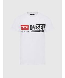 tシャツ Tシャツ レディース Tシャツ カッティングDIESELロゴ半袖Tシャツ|ZOZOTOWN PayPayモール店