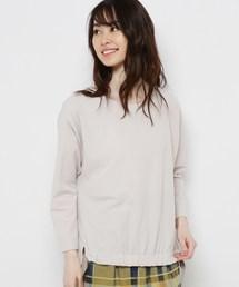 tシャツ Tシャツ 【手洗い可】ストレッチ裾リボンプルオーバー ZOZOTOWN PayPayモール店