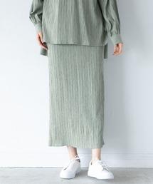 スカート シャーリングナロースカート 932982|ZOZOTOWN PayPayモール店
