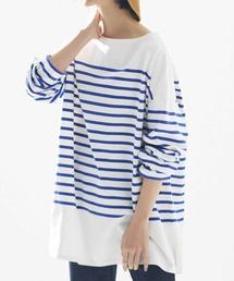 tシャツ Tシャツ IEDIT 小森美穂子さんコラボ こだわりバスク風ボーダーTシャツ|ZOZOTOWN PayPayモール店