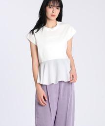 tシャツ Tシャツ 《Luftrobe》スーピマコットン裾フレアカットソー ZOZOTOWN PayPayモール店