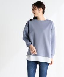 tシャツ Tシャツ 裾レイヤードプルオーバー|ZOZOTOWN PayPayモール店