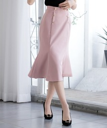 スカート ダブルボタンマーメイドスカート/21022|ZOZOTOWN PayPayモール店
