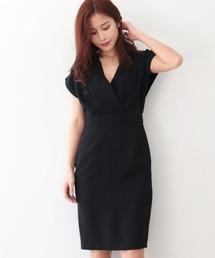ドレス カシュクールタイトドレス ZOZOTOWN PayPayモール店