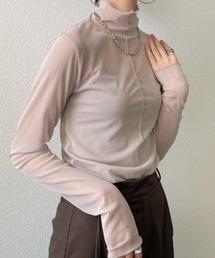 tシャツ Tシャツ 春夏シースルーシアータートルネックメロートップス|ZOZOTOWN PayPayモール店