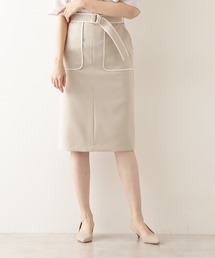 スカート バイカラータイトスカート ZOZOTOWN PayPayモール店