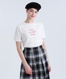 tシャツ Tシャツ メッセージTシャツ「Enjoy the little things」|ZOZOTOWN PayPayモール店