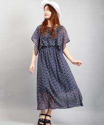 ワンピース 【ParAvion】スカーフスリーブワンピース womens|ZOZOTOWN PayPayモール店