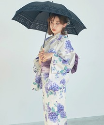 傘 バンブー持ち手パンチングレース刺繍日傘【UV加工傘】|ZOZOTOWN PayPayモール店