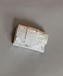 財布 【HASHIBAMI/ハシバミ】フェズ クロコ型押しミニウォレット|ZOZOTOWN PayPayモール店