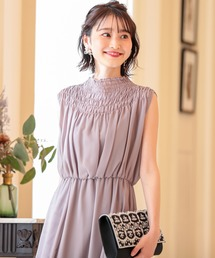 ドレス デコルテ シャーリング ハイネック ロングドレス|ZOZOTOWN PayPayモール店