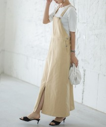 サロペット オーバーオール ロングジャンパースカート|ZOZOTOWN PayPayモール店