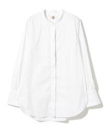 シャツ ブラウス BAGUTTA × 高橋リタ / スタンドカラー ロングスリーブシャツ|ZOZOTOWN PayPayモール店
