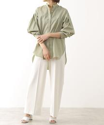 シャツ ブラウス martinique/スタンドカラーシャツ|ZOZOTOWN PayPayモール店