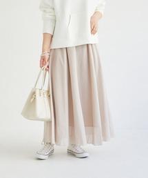 スカート シャンブレーフレアスカート|ZOZOTOWN PayPayモール店