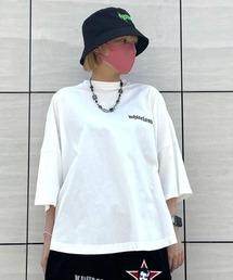 tシャツ Tシャツ WHITELAND/ホワイトランド/ロゴワイドTシャツ/LOGO WIDE TEE|ZOZOTOWN PayPayモール店