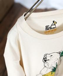 tシャツ Tシャツ go slow caravan/ゴースローキャラバン リサイクル天竺 パインクマプリントTEE|ZOZOTOWN PayPayモール店