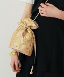 ショルダーバッグ バッグ 刺繍巾着バッグ|ZOZOTOWN PayPayモール店