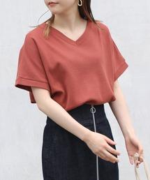 tシャツ Tシャツ [洗える]ワッフルVネックTシャツ|ZOZOTOWN PayPayモール店