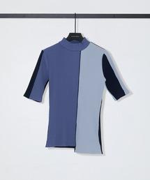 tシャツ Tシャツ ブロッキングカットソー【手洗い可能】|ZOZOTOWN PayPayモール店