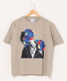 tシャツ Tシャツ La vie estbelle/ラ・ヴィエベル/フラワーフォトTシャツ/FlowerPhoto T-Shirts/Lavieest|ZOZOTOWN PayPayモール店