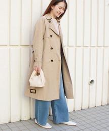 コート トレンチコート とろみロングスプリングコート ZOZOTOWN PayPayモール店