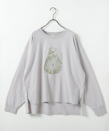 tシャツ Tシャツ WORK恐竜刺繍ロンTEE|ZOZOTOWN PayPayモール店