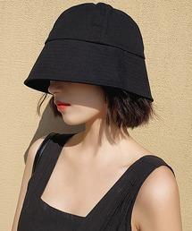 帽子 ハット シンプル バケットハット ハット コットン サファリハット|ZOZOTOWN PayPayモール店