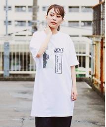 tシャツ Tシャツ 【BUCKET/バケット】BIGシルエット Tワンピース ビッグシルエット|ZOZOTOWN PayPayモール店