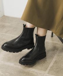 ブーツ PASCUCCI サイドゴアボリュームブーツ|ZOZOTOWN PayPayモール店