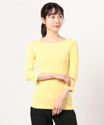 tシャツ Tシャツ Ginger 七分袖ボートネックTシャツ ZOZOTOWN PayPayモール店