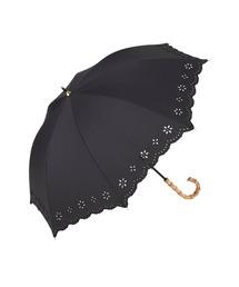 傘 カットワークレース刺繍日傘【UV加工】バンブー|ZOZOTOWN PayPayモール店
