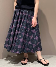 スカート ◇【LE GLAZIK】バティック フレアスカート WOMEN ZOZOTOWN PayPayモール店