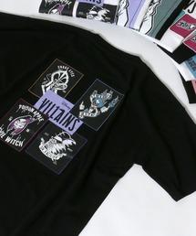tシャツ Tシャツ ≪2021 SUMMER≫ Disney VILLAINS/ディズニーヴィランズ バックイラストロゴプリントTシャツ|ZOZOTOWN PayPayモール店