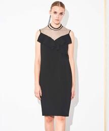 ワンピース バックサテンジョーゼット ドレス|ZOZOTOWN PayPayモール店