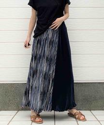 スカート MIXカラーマイクロプリーツスカート|ZOZOTOWN PayPayモール店