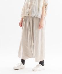 スカート リネンレーヨンサルエルバルーンスカート|ZOZOTOWN PayPayモール店