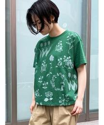 tシャツ Tシャツ フラワーケイブプリントTシャツ|ZOZOTOWN PayPayモール店