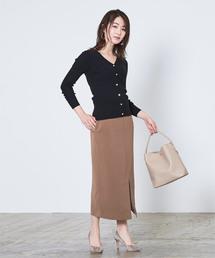スカート フロントスリットサロペットスカート|ZOZOTOWN PayPayモール店