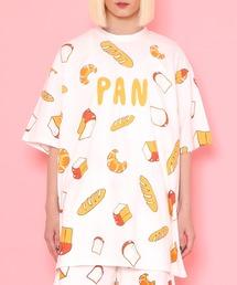 tシャツ Tシャツ フード総柄Tシャツ(PAN) ZOZOTOWN PayPayモール店