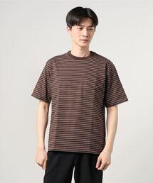 tシャツ Tシャツ ORCIVAL / ポケットストライプ クルーネックTシャツ<MEN>|ZOZOTOWN PayPayモール店