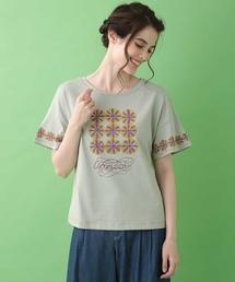 tシャツ Tシャツ Serenidad フラワープリントTシャツ|ZOZOTOWN PayPayモール店