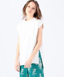 tシャツ Tシャツ コットンジャージー フレンチスリーブプルオーバー|ZOZOTOWN PayPayモール店